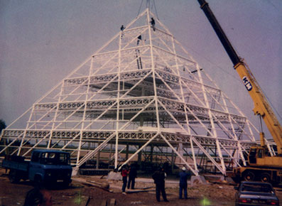 Construction pyramide Doublet